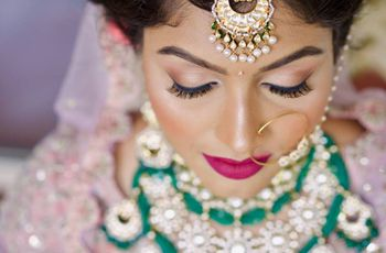 10 Wedding Makeup Looks of Real Brides You Must Bookmark & Look at Before Tying the Knot
