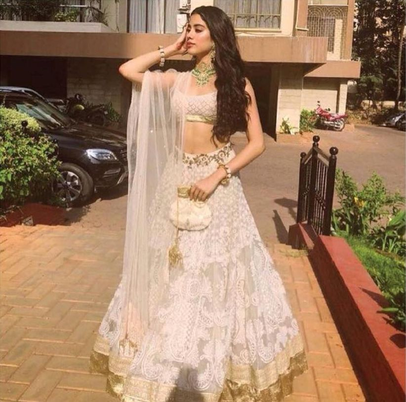 10 White Lehenga Styles To Make You Look Stunning On Your