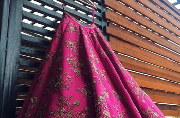 10 Offbeat Bridal Lehengas That'll Help You Think Beyond the Red