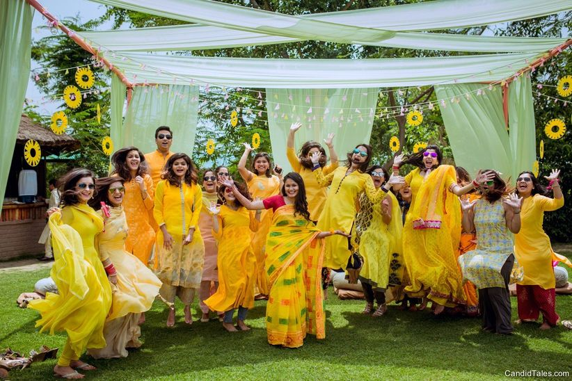 5 Ideas To Have A Super Fun Haldi Function