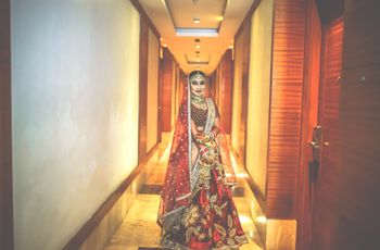 5 Steps to the Red Bridal Lehenga of Your Dreams