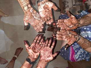 Crystal Mehndi Creations, Surat 3