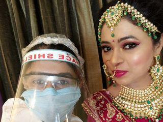 Glam Makeovers by Nandini Pandey 3