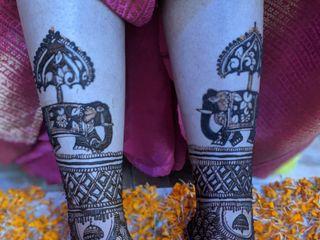 Sanjay Mehandi Art 1