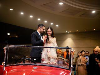 The wedding of Ritika and Akshay 1