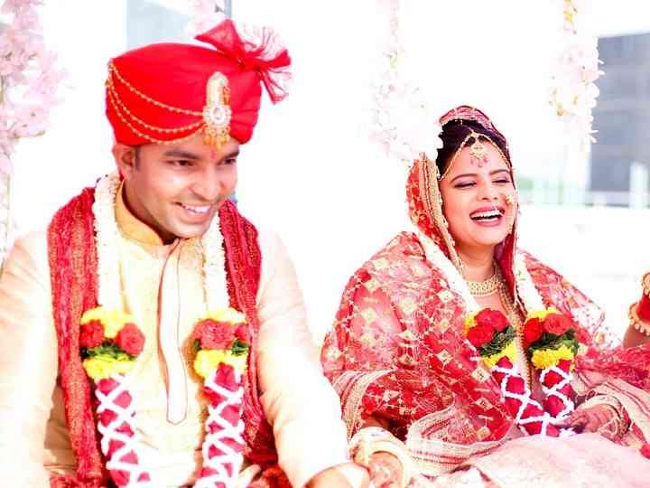 The wedding of Renu and Swapnil
