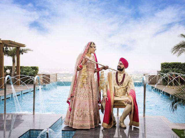 The wedding of Sahiba and Gurjot