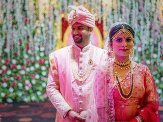 The wedding of Pallavi and Prashant