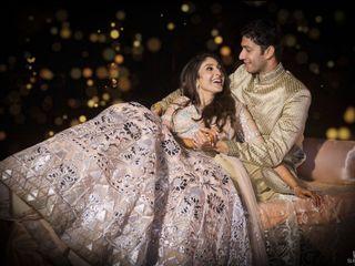 The wedding of Kshitij and Shaista