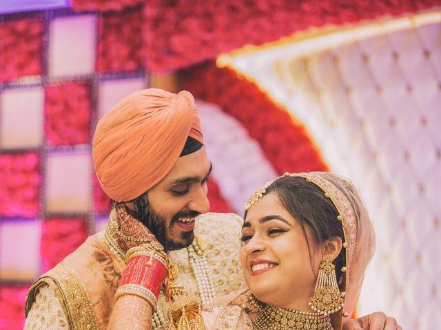 The wedding of Guneet and Jasdeep