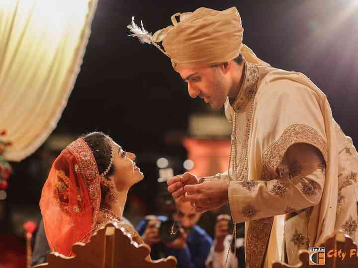 The wedding of Amrita and Rohit