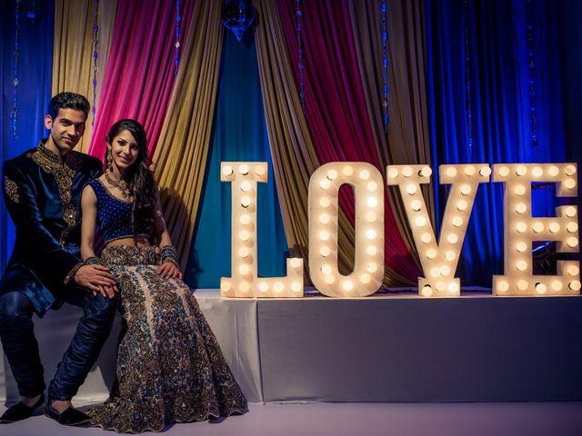 The wedding of Priya and Gaurav