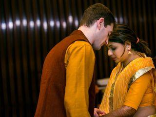 The wedding of Nidhi and Jonathan 2