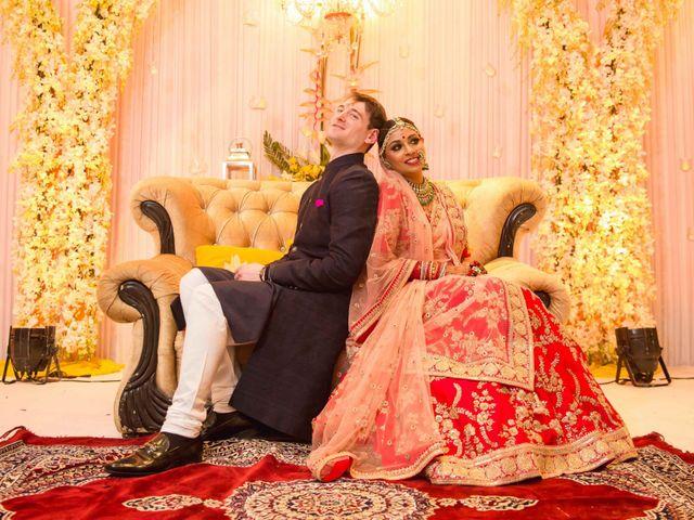 The wedding of Nidhi and Jonathan