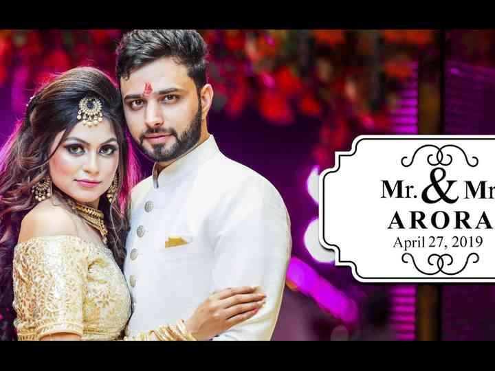 The wedding of Ankit and Monika