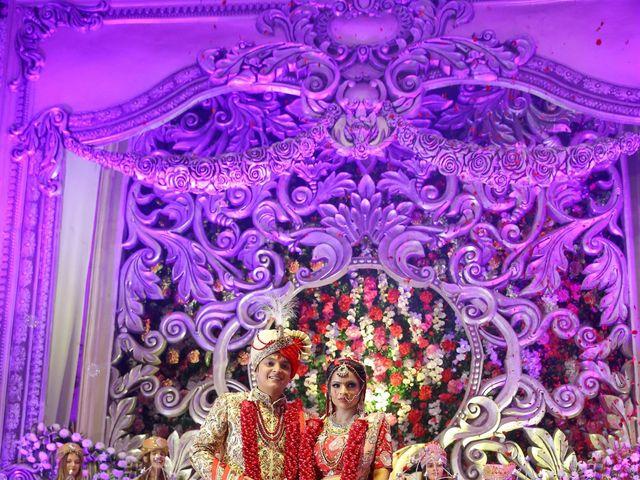 The wedding of Vaishali and Akshay