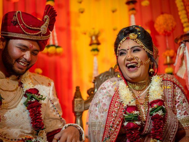 The wedding of Devanshi and Krish