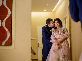 The wedding of Barbie and Sandeep 1