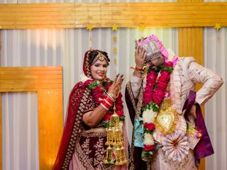 The wedding of Barbie and Sandeep