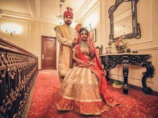 The wedding of Suman and Pankaj
