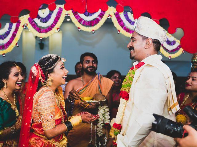 The wedding of Rashmi and Haresh