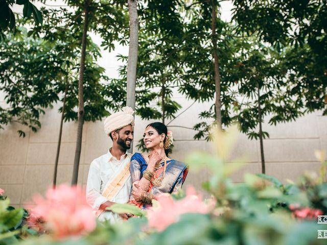 The wedding of Gayathri and Ajenthen