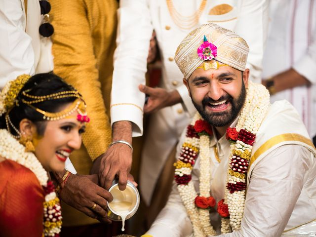 The wedding of Spoorty and Gautham