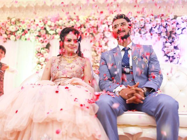 The wedding of Surbhi and Vivek