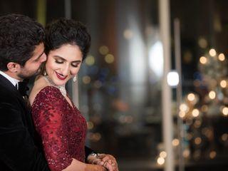 The wedding of Aakriti and Yuvraj 1