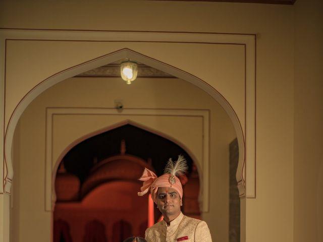 The wedding of Gayatri and Shobhit