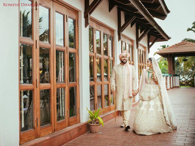 The wedding of Karisha and Paresh