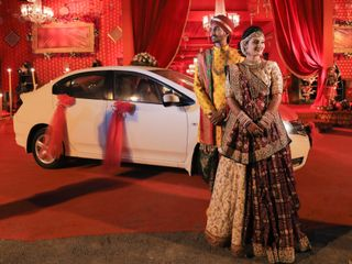 The wedding of MEET and DHARA