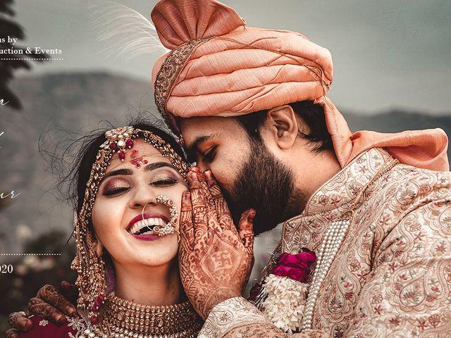 The wedding of Pooja and Mayur