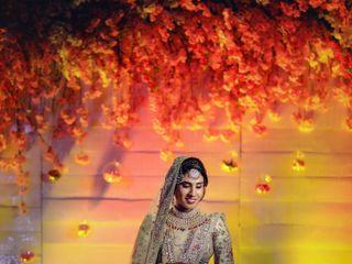 The wedding of Anisha and Hidayath Suhail 1
