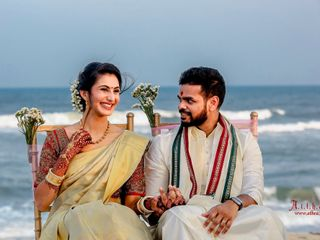 The wedding of Natasha and Rajiv