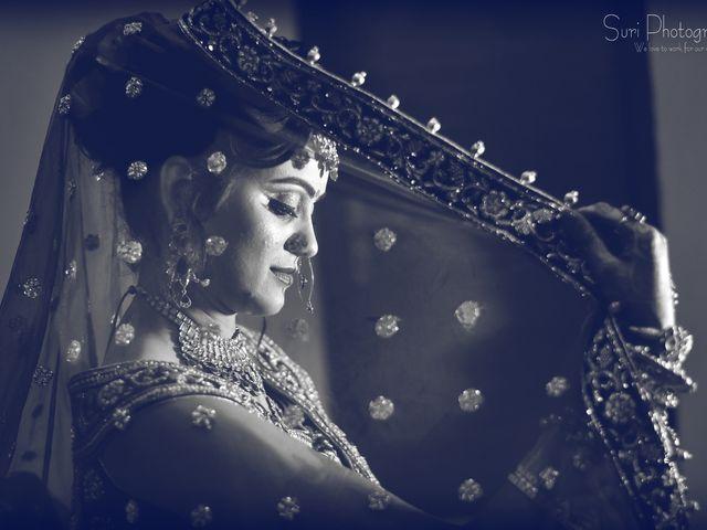 The wedding of Akshay and Priyanka