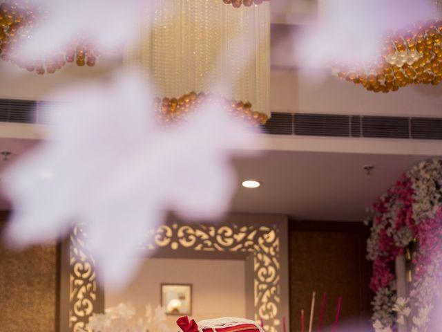 The wedding of Tanuj and Vaishali