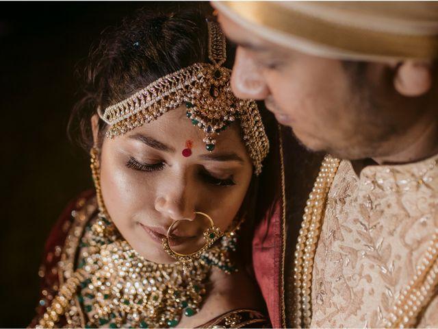 The wedding of Pooja and Ashwani