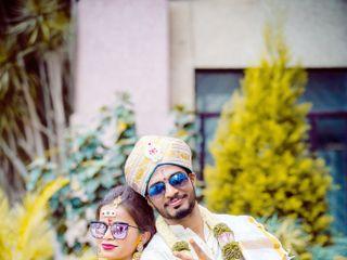 The wedding of Anitha and Vinod