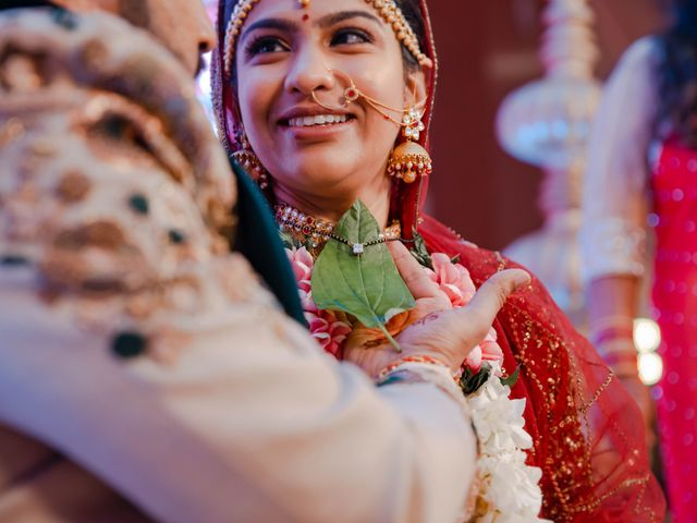 The wedding of Foram and Siddharth