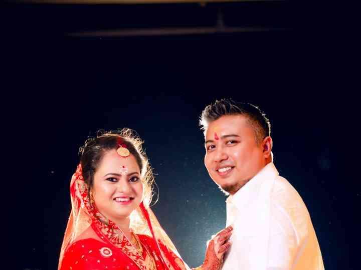 The wedding of Nabanitha and Varun