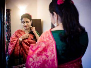 The wedding of Amoolya and Radha Krishna 1