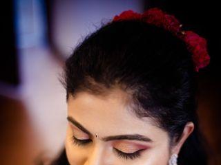 The wedding of Amoolya and Radha Krishna 2