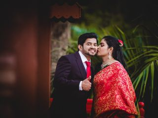 The wedding of Amoolya and Radha Krishna