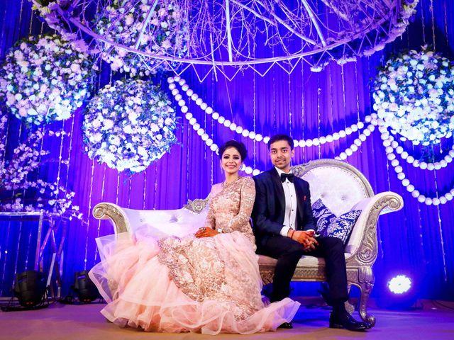 The wedding of Shruti and Nitish