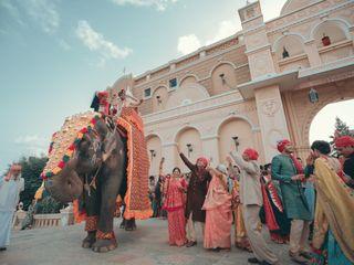 The wedding of Nishtha and Nirmal