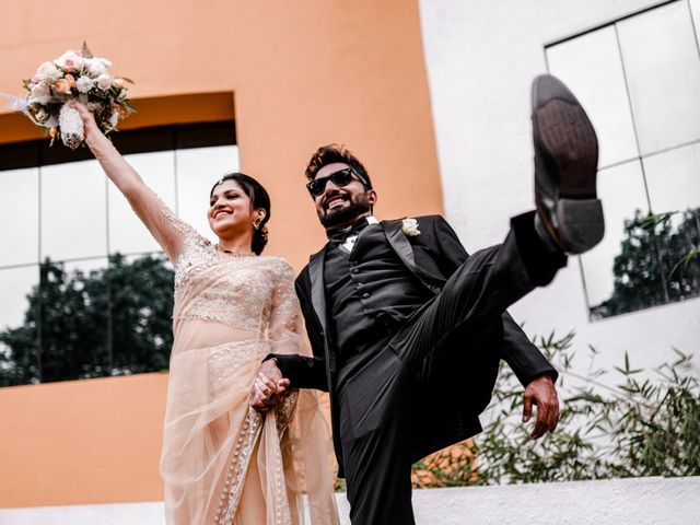 The wedding of Lavina and Sreenath