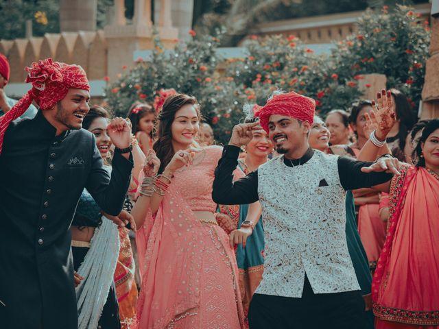 Nishtha and Nirmal's wedding in Rajkot, Gujarat 5