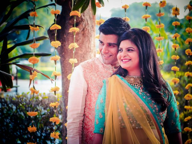 The wedding of Maulika and Ayush