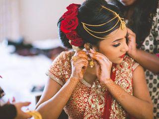 The wedding of Chandini and Akshay 1